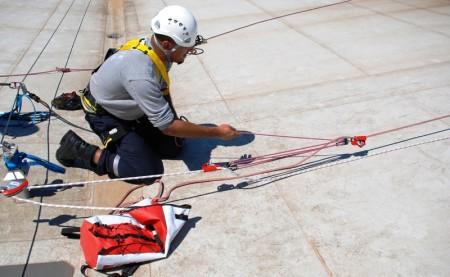 évacuation, sauvetage en hauteur