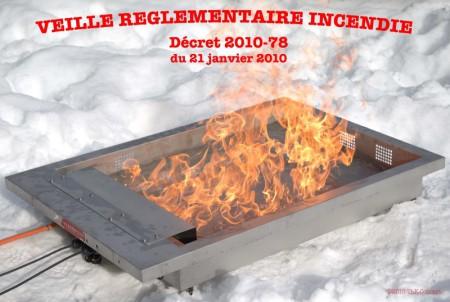 réglementation incendie